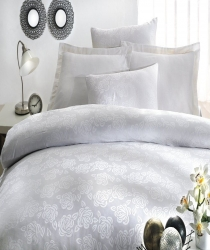 Постельное белье ISSIMO HOME ROSEBERRY WHITE(BEYAZ)